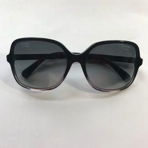 Chanel Square Polarized Designer Sunglasses
